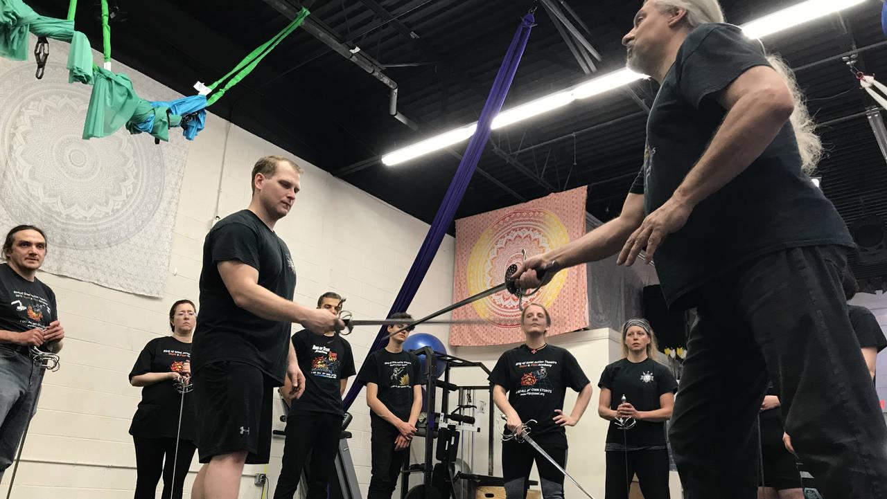 Ring of Steel sword demo