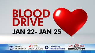Give back and save a life at the 2018 KSAT COMMUNITY Blood Drive