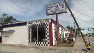 Damaged light pole poses problem for Daytona Beach business owner