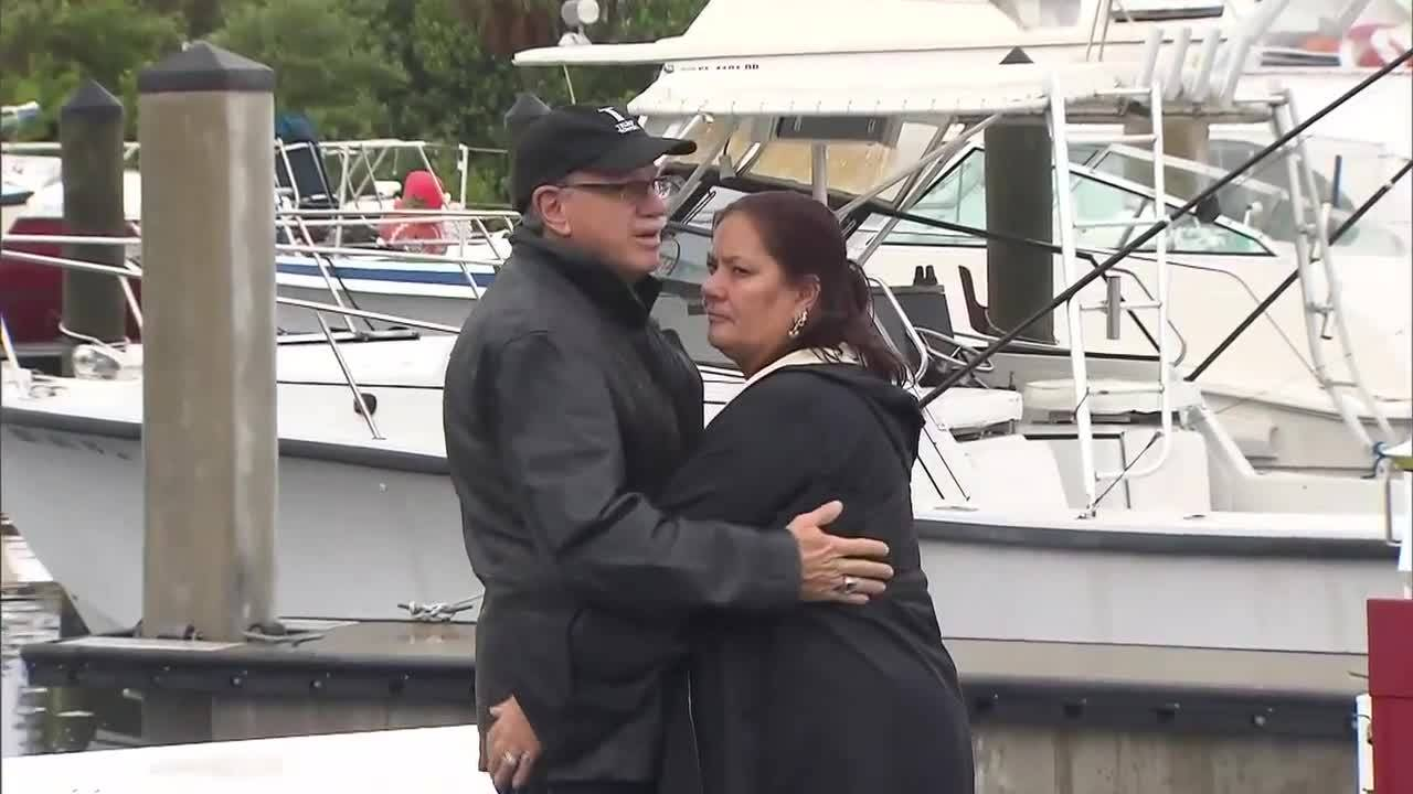 Carolyn Grasso and husband