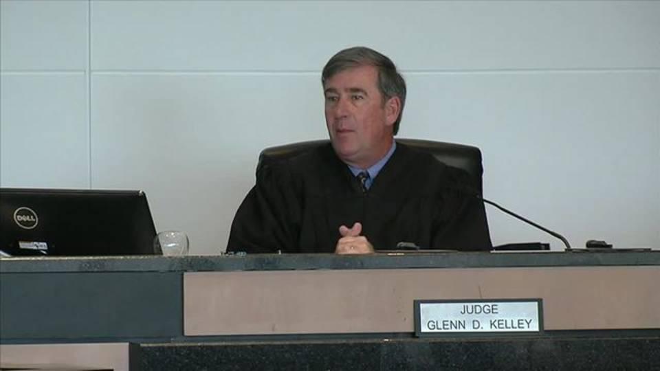 Judge Glenn Kelley declares mistrial