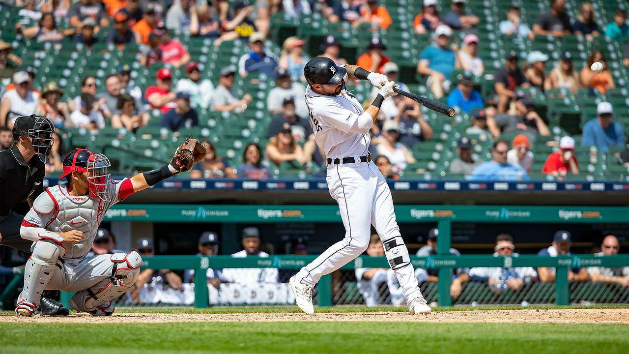Nicholas Castellanos Detroit Tigers vs Nationals 2019