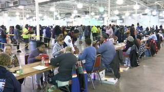 Those who need public housing can apply at Fairgrounds to get