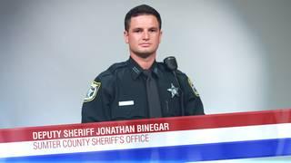 Deputy Sheriff Jonathan Binegar of the Sumter County Sheriff's Office