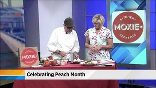 Celebrating peach month with Moxie Kitchen + Cocktails
