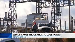 Botetourt County residents begin to get power back after substation fails