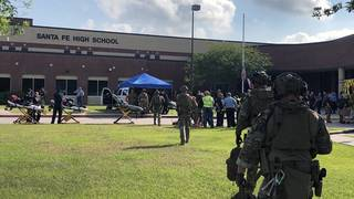Santa Fe High School student: '...not going back'
