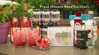 H-E-B Backyard Kitchen: Frosé (Frozen Rosé Cocktail)