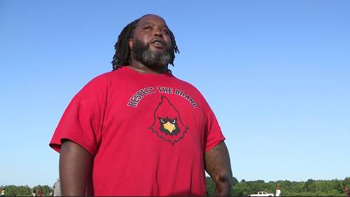 Man wants to set record straight after claims he stole high school football sleds