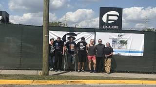 Parkland students visit Pulse memorial, honor victims of both mass shootings
