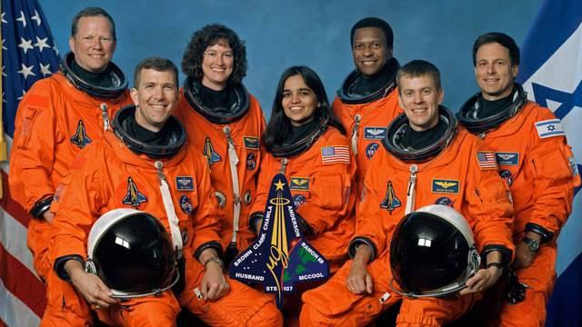 Shuttle-Columbia-astronauts