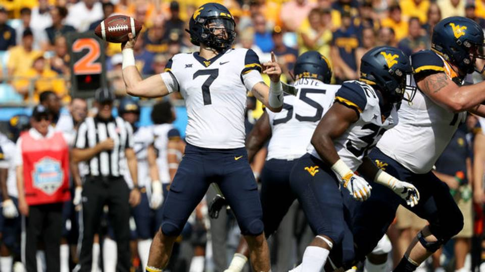 Will Grier West Virginia football 2018