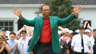 Celebrities on Twitter react to Tiger Woods winning the Masters