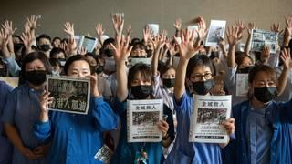 Hong Kong Bans Wearing Masks At Protests