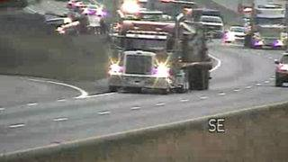 Multi-vehicle crash causes 4.5-mile back up on I-81
