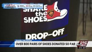 Over 800 pairs of shoes donated in 'Share the Shoes' drive