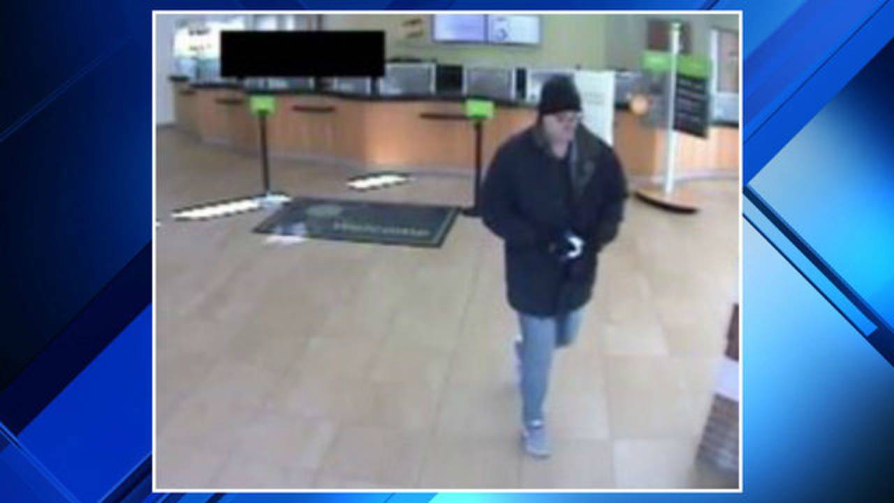 Shelby Township bank robbery suspect