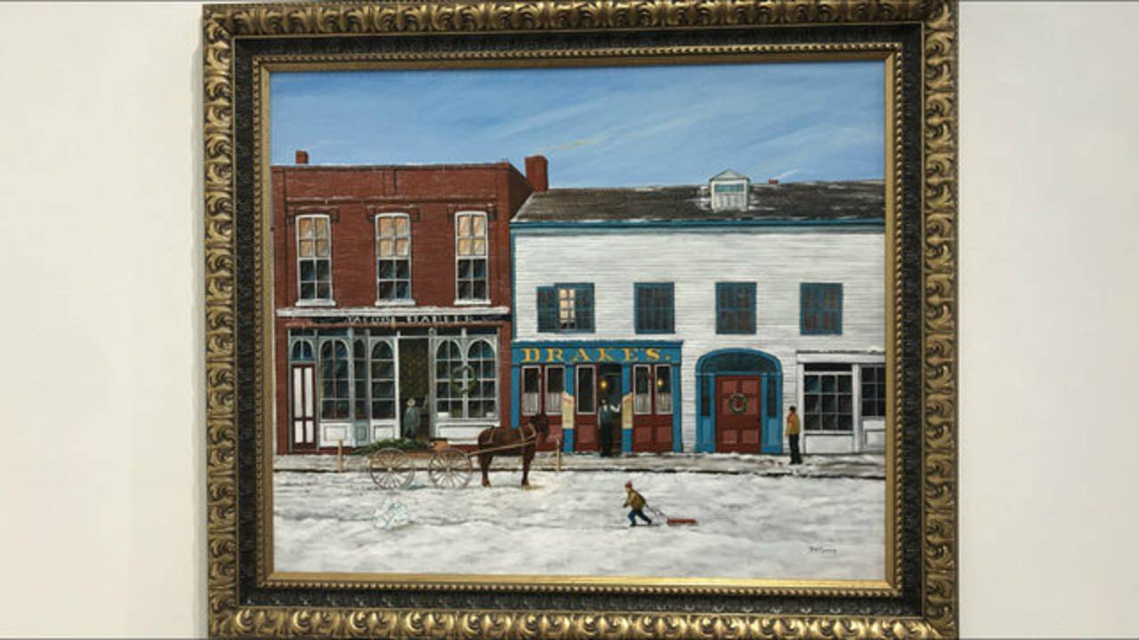 Ann Arbor paintings Drake's