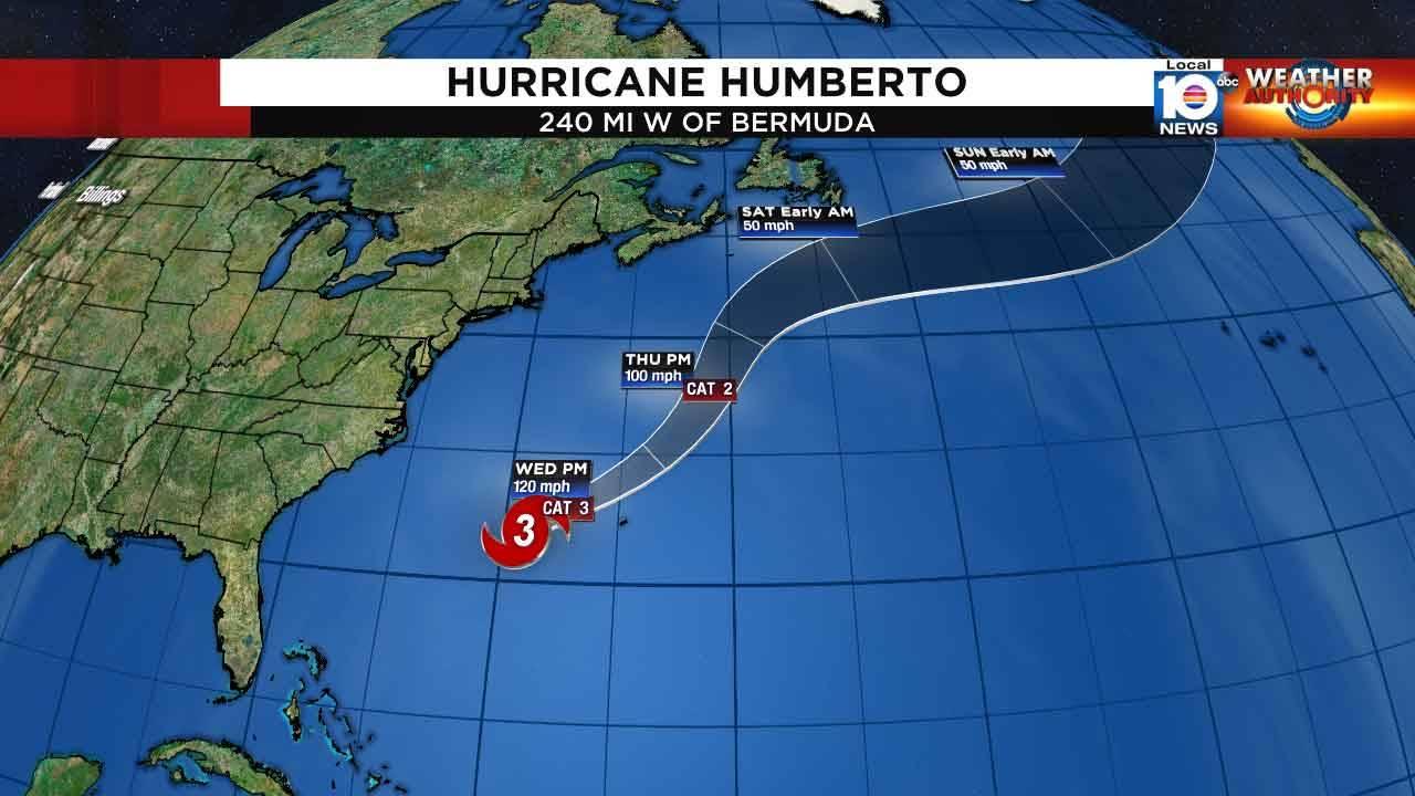 Hurricane Humberto Sept. 18, 2019