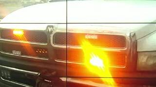 What's the deal with warning lights on construction vehicles?