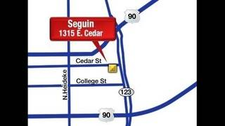 Seguin Football Stadium Map