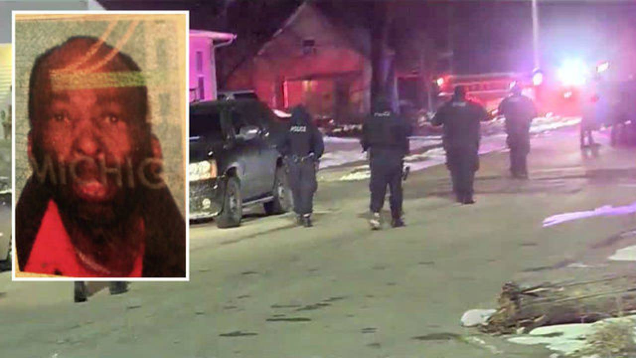 Detroit police officers shot on west side with person of interest