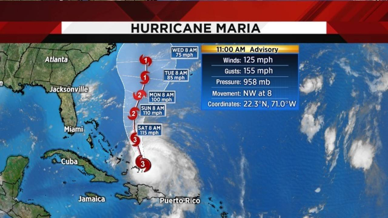 How Hurricane Maria Will Affect Jacksonville