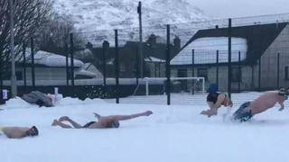 Group of Scottish 'Swimmers' Do Laps in the Snow to Raise Money for&hellip&#x3b;