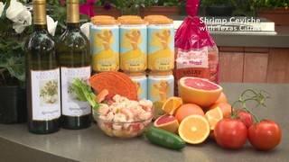 H-E-B Backyard Kitchen: Shrimp Ceviche with Texas Citrus