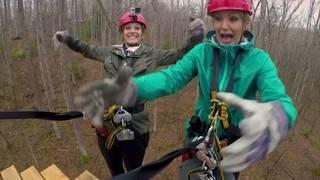 Daytime Destinations: Ziplining in West Virginia