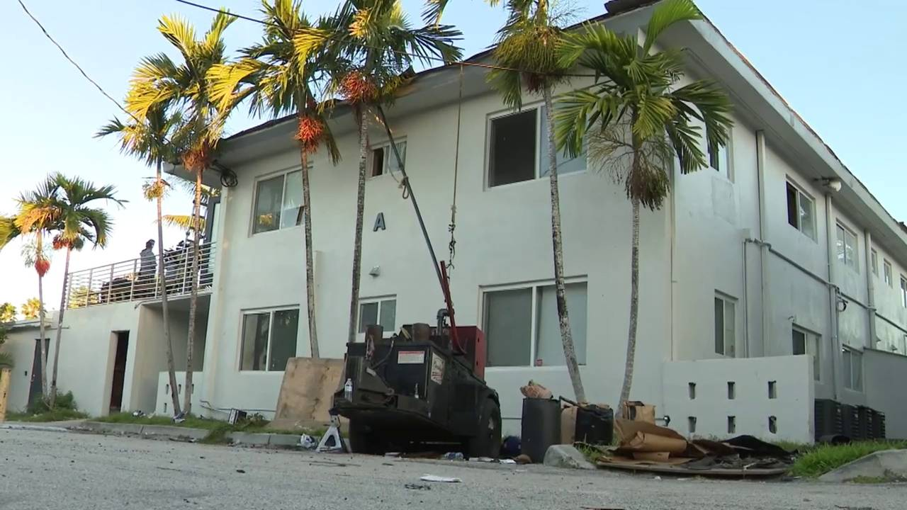 Roofing equipment where Prestige Estates apartment fire sparked