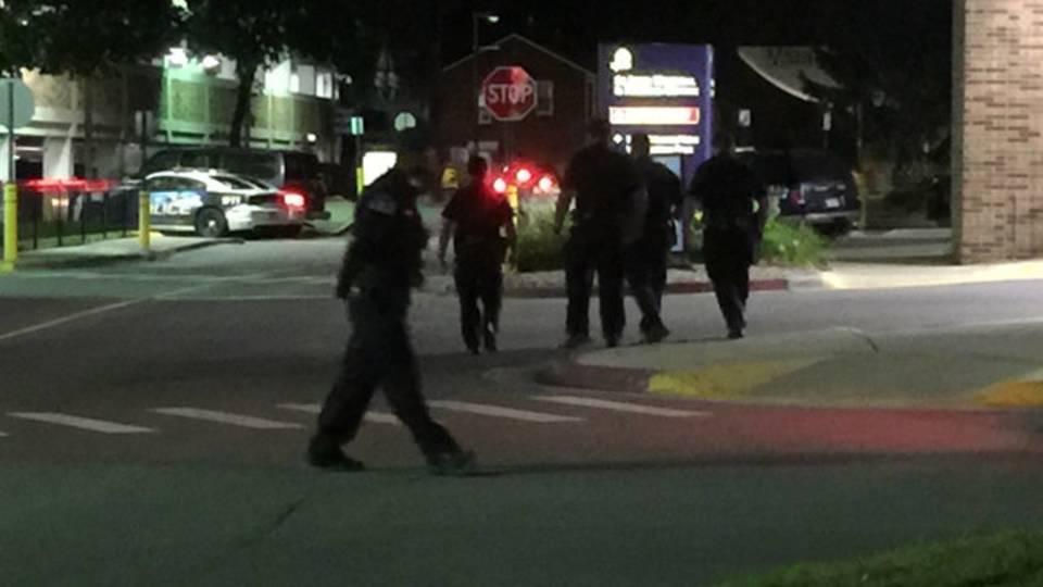 Saint John Hospital officer shot 2