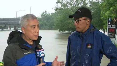 'You can't catch your breath here,' Lester Holt tells Bill Balleza