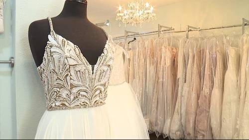 Save money on a designer wedding gown; Make money selling yours after your big day