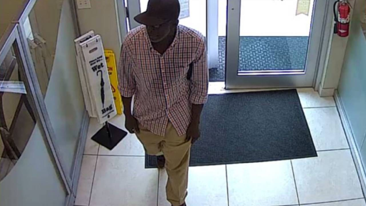Tropical Financial Credit Union robber in fort lauderdale
