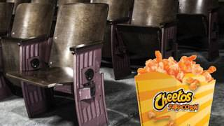 Regal theaters serve dangerously cheesy Cheetos popcorn