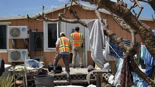 Thousands of Floridians helped hurricane victims