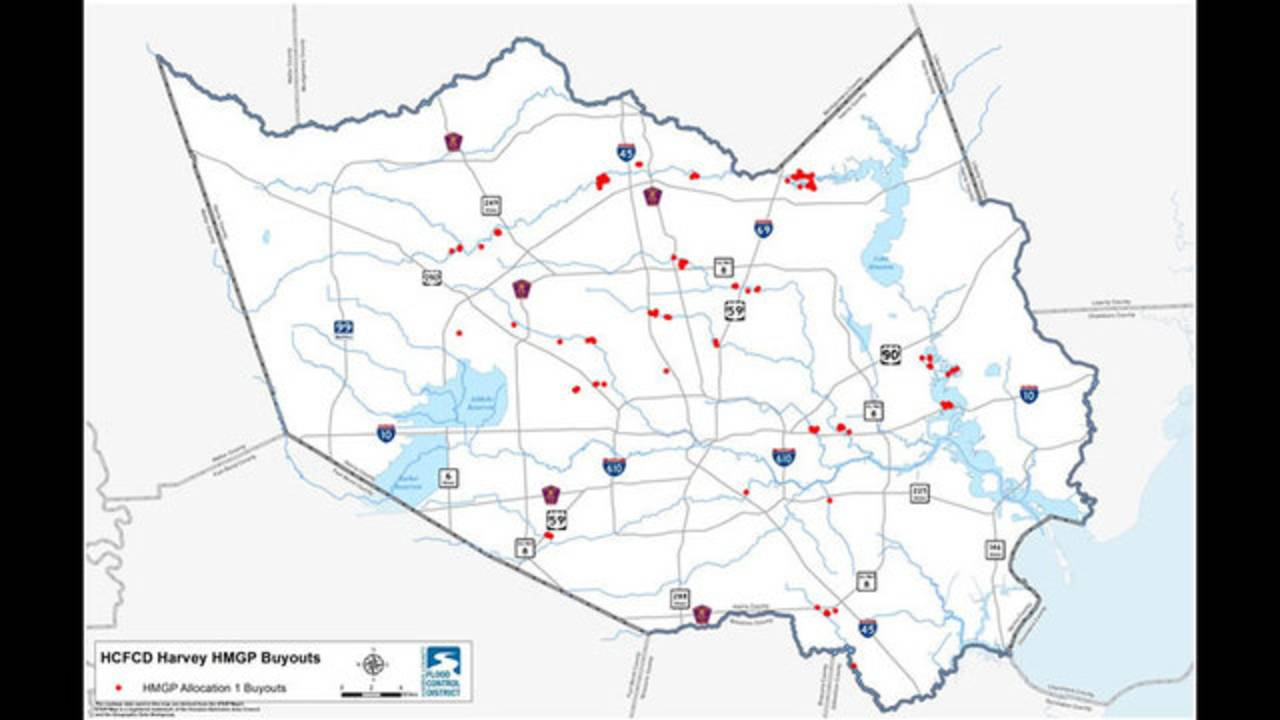 First Post-Harvey buyouts map