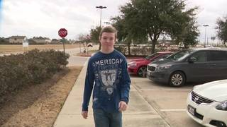 Teen uses CPR to save man at movie theater in Tomball