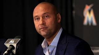 Jeter defends Stanton trade as part of rebuild