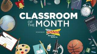 Sonic Drive-In Classroom of the Month