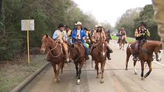 Salt Grass riders hit trail to Houston Rodeo