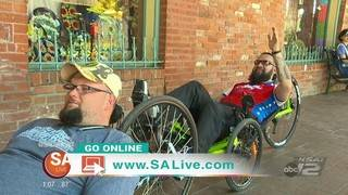 Operation Comfort helps wounded warriors.