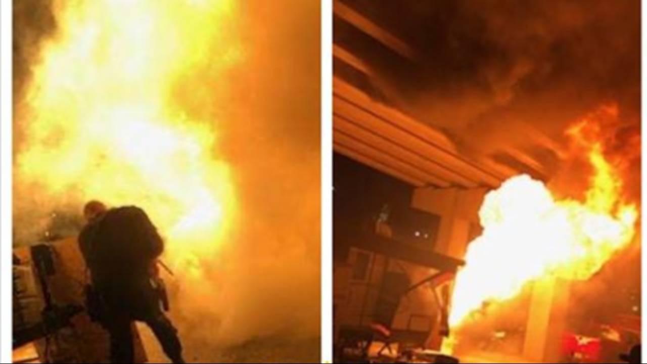RV City generator fire