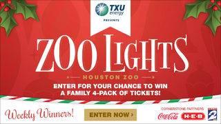 Houston Zoo Lights Ticket Giveaway