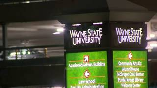 Wayne State University closed until 5 p m  Wednesday due to