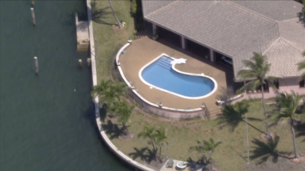 Sky 10 over drowning in North Miami