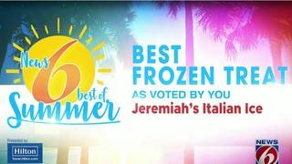 Best of Summer frozen treat winner: Jeremiah's Italian Ice
