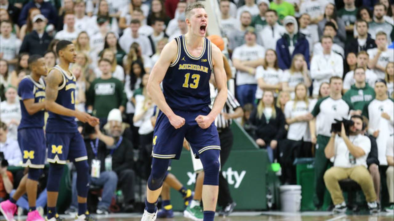 Moritz Wagner Mo Wagner Michigan basketball MSU 2018