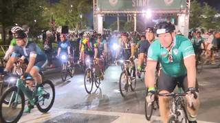 Huge crowds at Dolphins Cancer Challenge in Miami Gardens